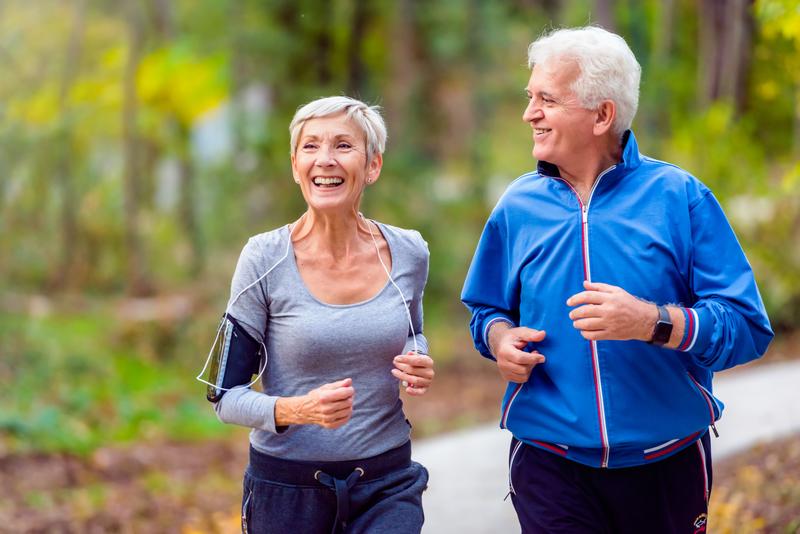 ouderen hardlopen