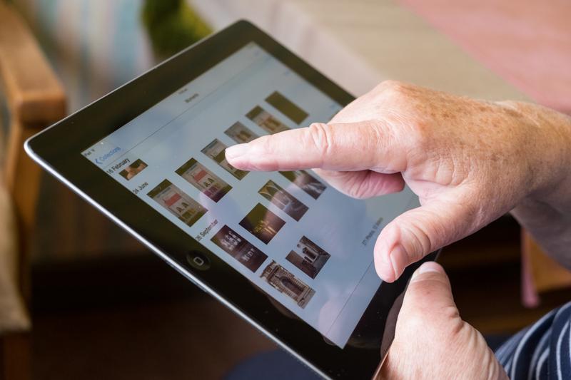tablet voor senioren
