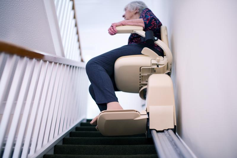 verhoogde mobiliteit met een traplift